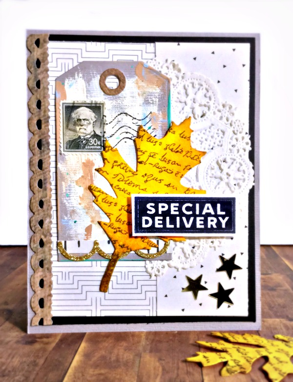 Simon Says Stamp Special Delivery card