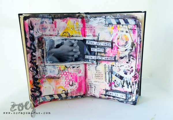 Mixed-Media-Art-Journal_Zoey_Scrapsaurus_SimonSaysStamp