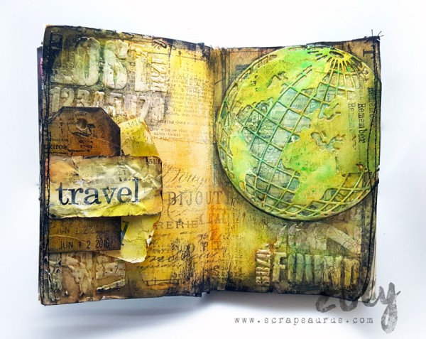 Mixed-Media-Art-Journal_World-Traveller_Scrapsaurus_SSS