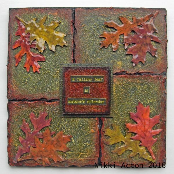 Autumn with Distress Paints 1000