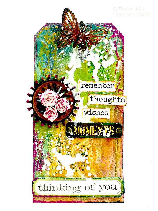 meihsia-liu-simply-paper-crafts-mixed-media-tag-simon-says-stamp-monday-challenge-thinking-of-you