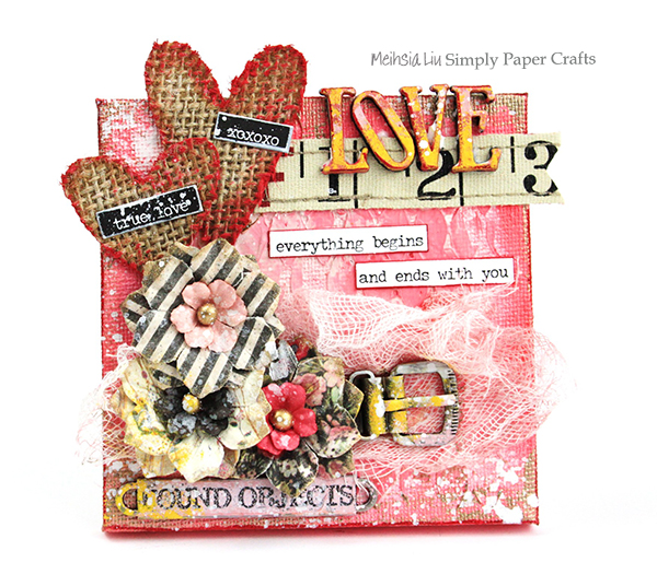 meihsia-liu-simply-paper-crafts-mixed-media-mini-canvas-love-valentines-simon-says-stamp-monday-challenge-tim-holtz-prima-flowers-2