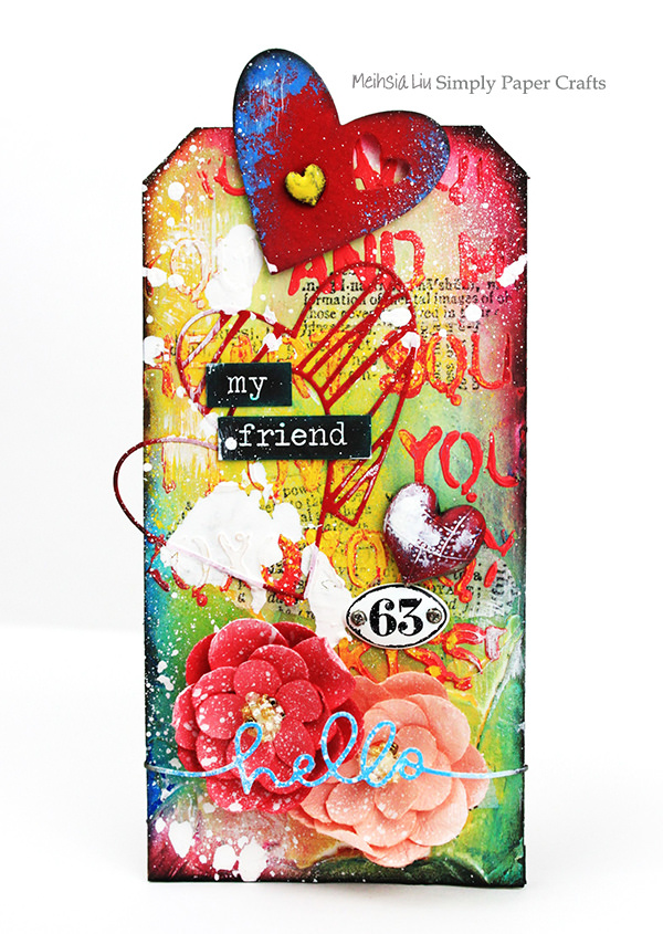 meihsia-liu-simply-paper-crafts-mixed-media-tag-simon-says-stamp-monday-challenge-heart-love