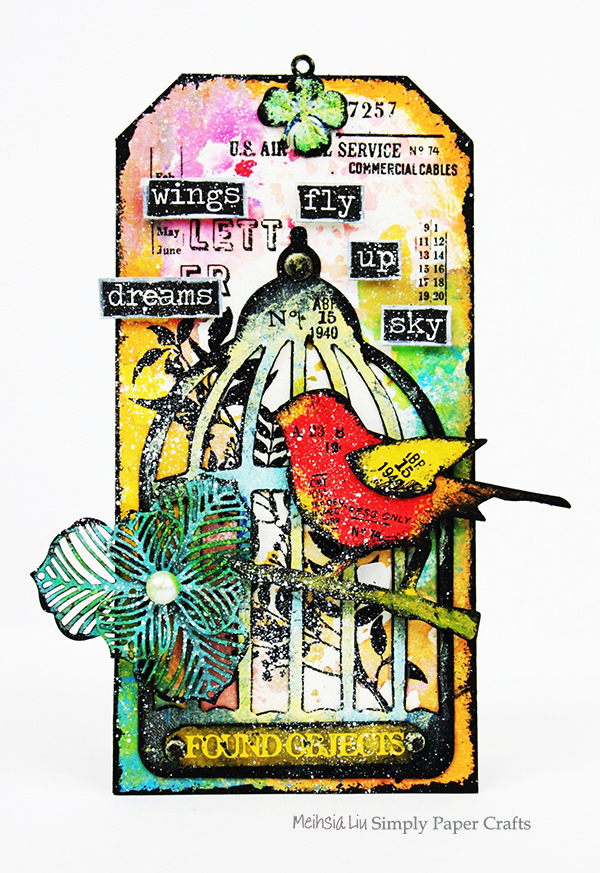 meihsia-liu-simply-paper-crafts-mixed-media-tag-bird-cage-wings-tim-holtz-simon-says-stamp