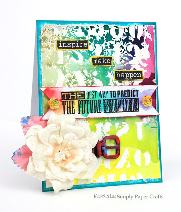 meihsia-liu-simply-paper-crafts-mixed-media-card-rainbow-simon-says-stamp-tim-holtz