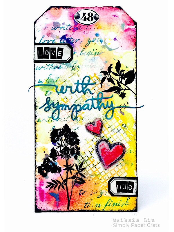 meihsia-liu-simply-paper-crafts-mixed-media-tag-sympathy-simon-says-stamp-tim-holtz