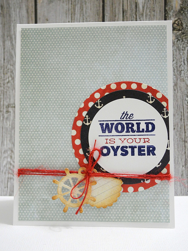 SSS The World Is Your Oyster