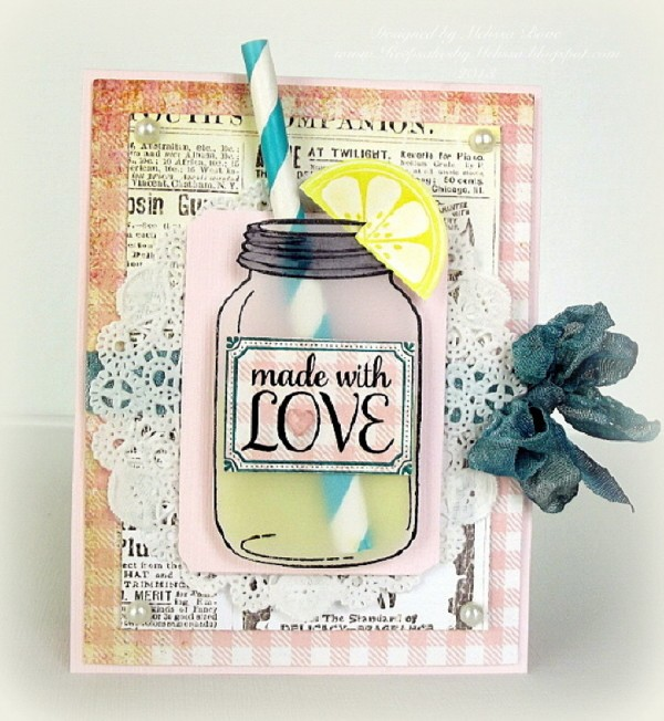 made with LOVE card-003 esized