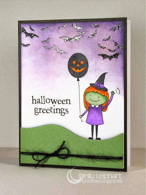 Emily's Halloween Card