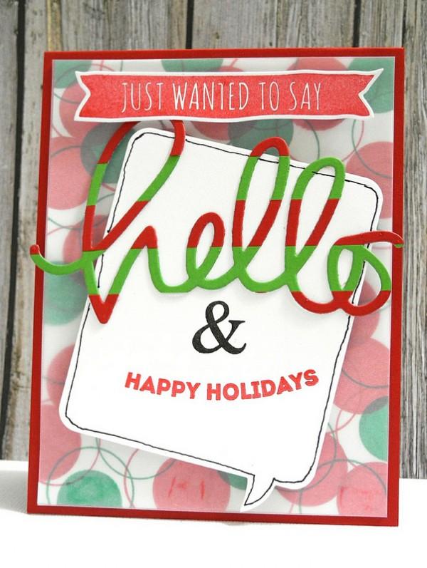 SSS Hello & Happy Holidays