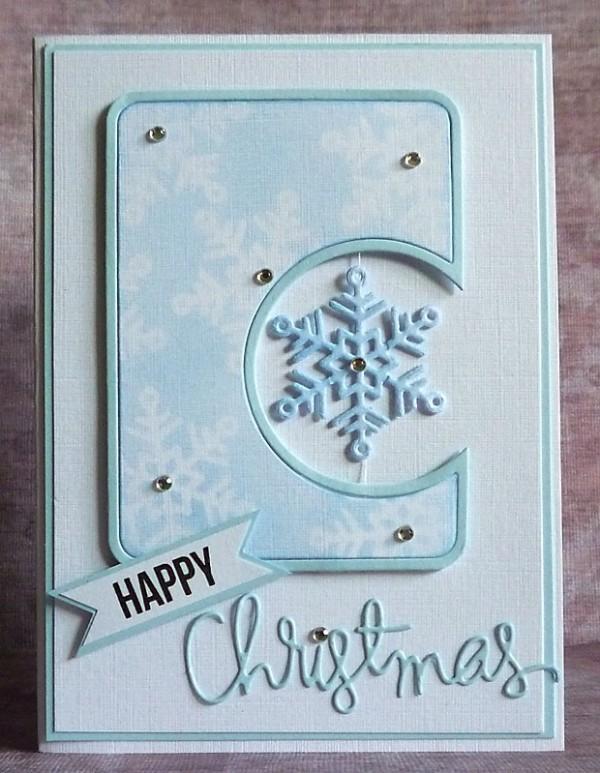 simon blue snowflake