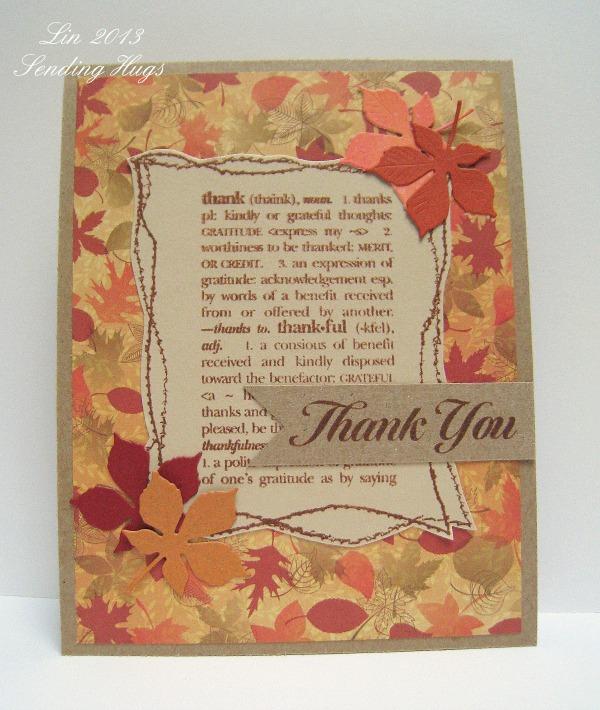 SSS Nov 13 Thanks