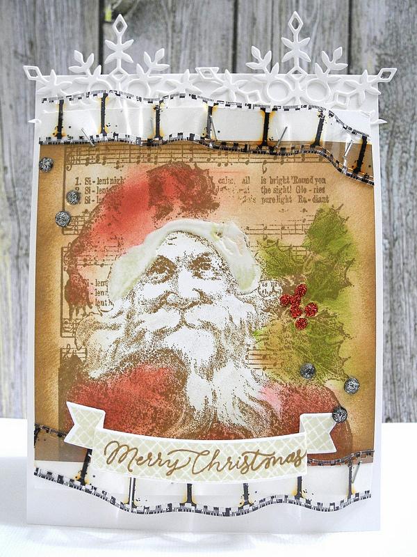 SSS Vintage Santa Christmas