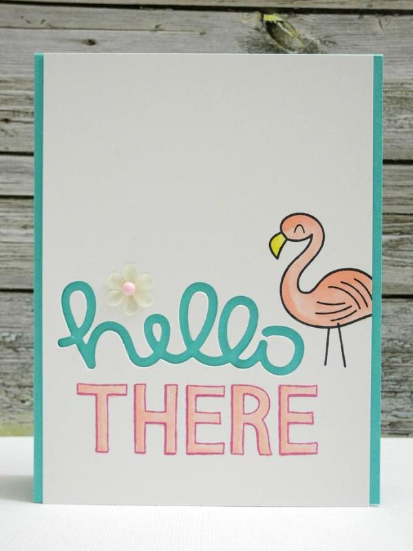 SSS Hello There Flamingo