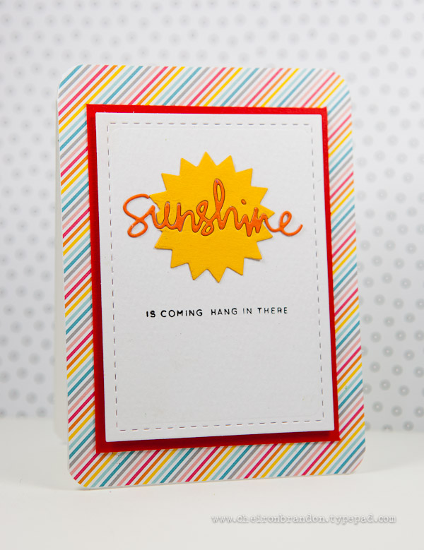 Sunshine is coming by Cheiron Brandon