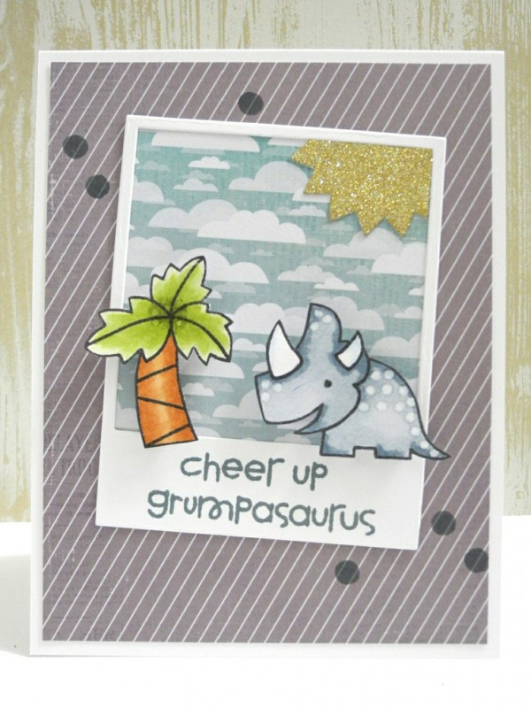 Cheer Up, Grumpasaurus