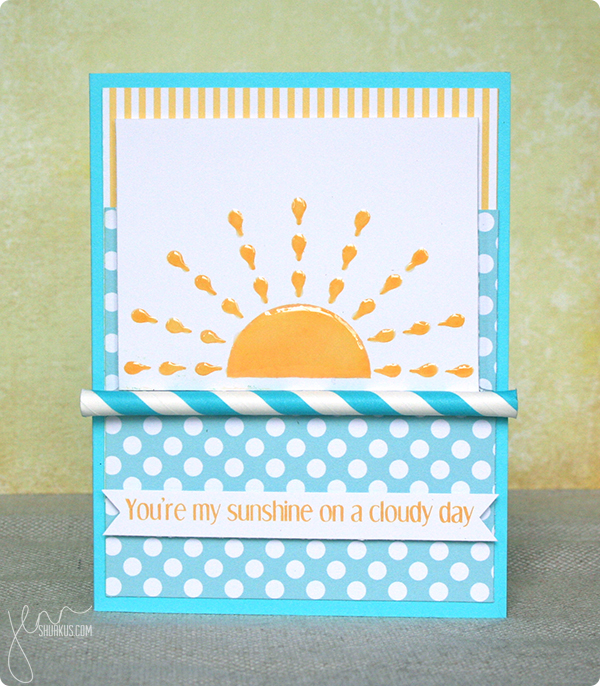 Anything Goes Simon Says Stamp Challenge with CAS-ual Stamps by Jenn Shurkus | shurkus.com