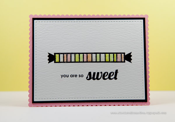 you are so sweet by Cheiron Brandon_