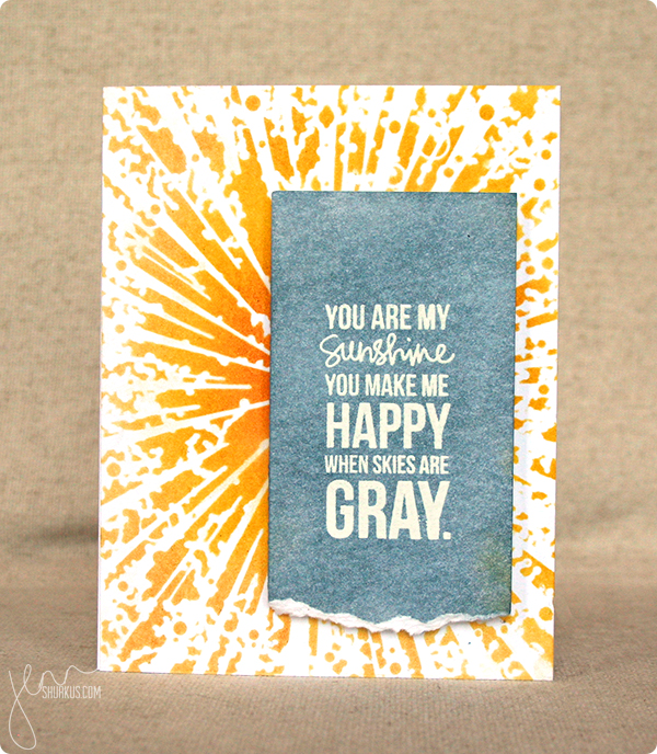 created with Memory Box Designer Stencil and Simon Say Stamp Exclusive Stamps | by Jenn Shurkus