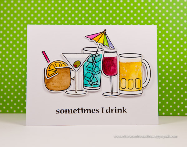 sometimes I drink by Cheiron Brandon