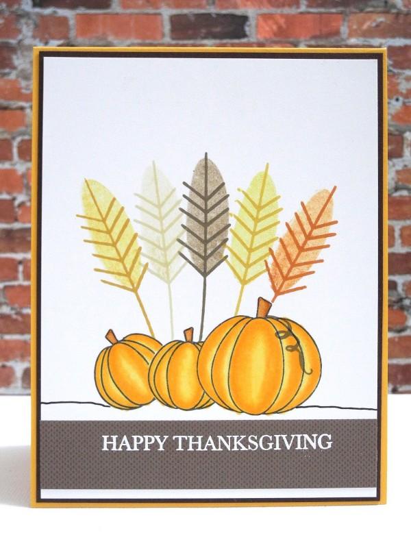 Happy Thanksgiving Pumpkins