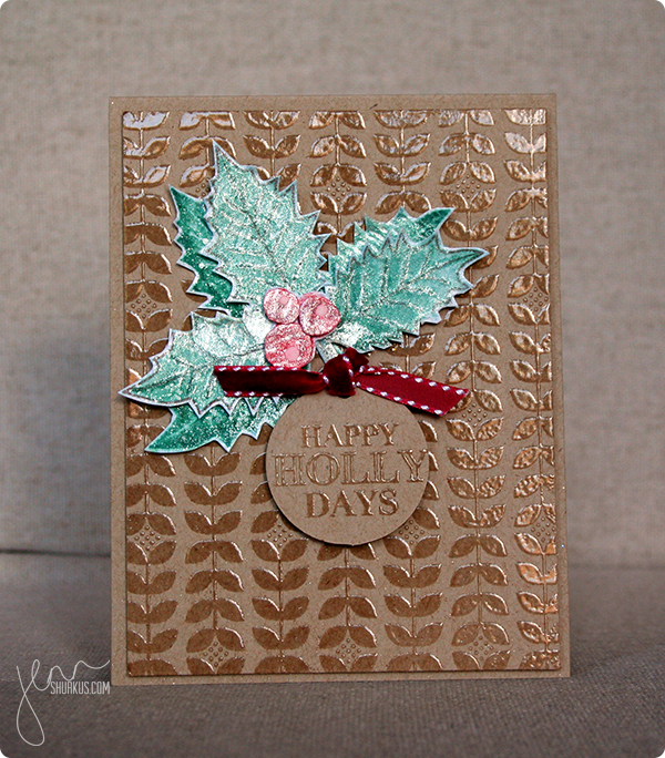 Get Krafty Card with Hero Arts by Jenn Shurkus   shurkus.com