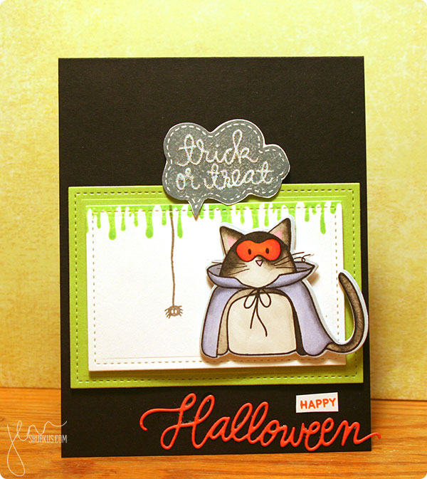 Halloween Card by Jenn Shurkus | shurkus.com