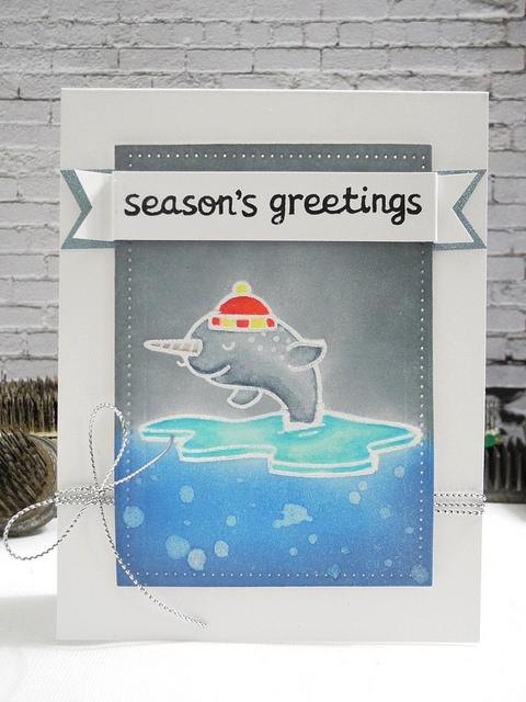 SSS Narwhal Season's Greetings
