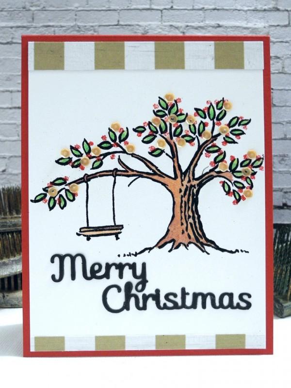 SSS Merry Christmas Tree Swing