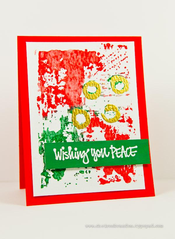 Wishing You Peace by Cheiron Brandon