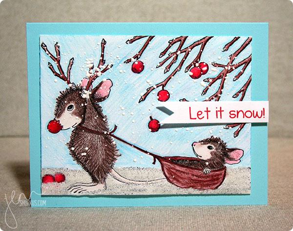 Christmas/Holidays featuring Stampendous by Jenn Shurkus   shurkus.com