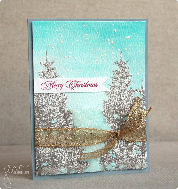 Winter Inspiration featuring Penny Black by Jenn Shurkus | shurkus.com