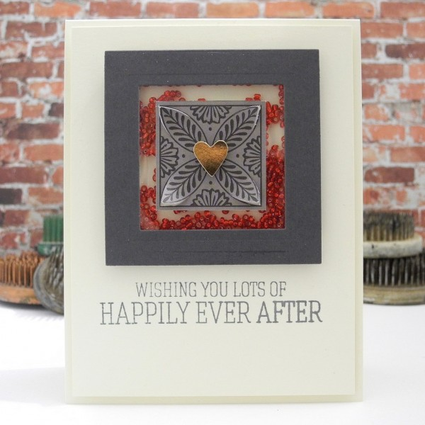Happily Ever After by @Jennifer Ingle #simonsaysstamp #diy #cardmaking #primamarketing