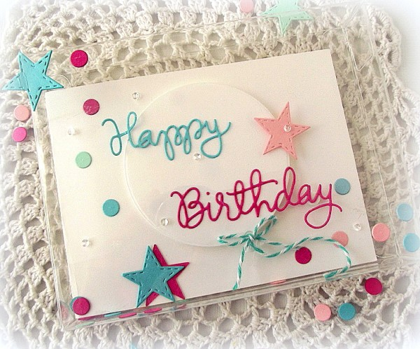Birthday card in box-001