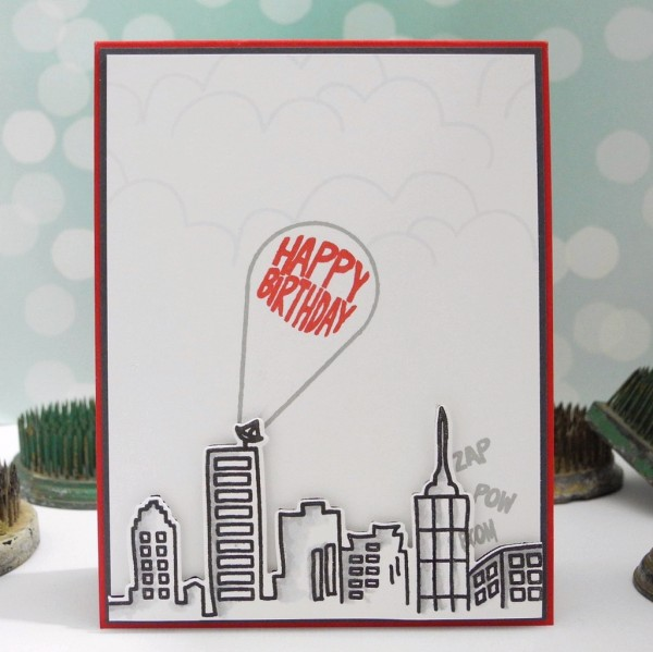 City Birthday by Jennifer Ingle #averyelle #justjingle #simonsaysstamp