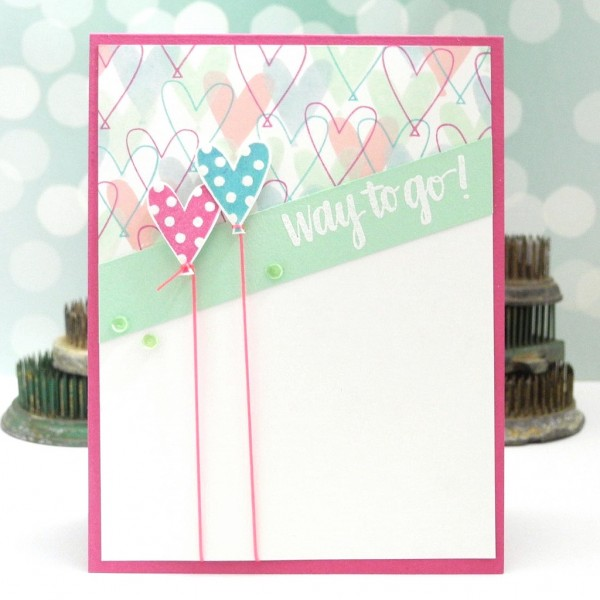 Way to Go by Jennifer Ingle for Simon Says Stamp #simonsaysstamp #cards #diy