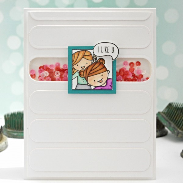 I Like You by Jennifer Ingle #justjingle #simonsaysstamp #mamaelephant