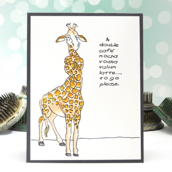A fun card created by Jennifer Ingle for the Simon Says Stamp Wednesday Challenge #JustJingle #SimonSaysStamp #ArtisticImpressions #cards