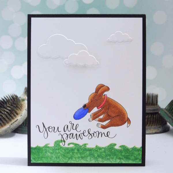 You Are Pawsome by Jennifer Ingle for the Simon Says Stamp Wednesday Challenge #JustJingle #SimonSaysStamp
