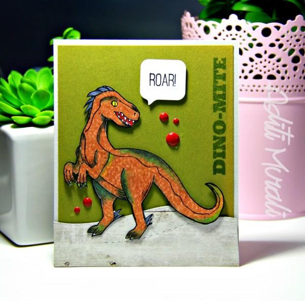 Roar card by Aditi