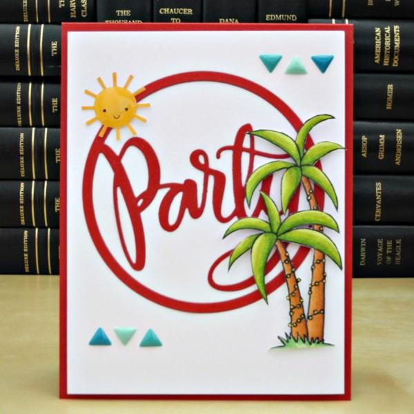 Party by Jennifer Ingle #JustJingle #SimonSaysStamp #DoodlebugDesigns #Cards