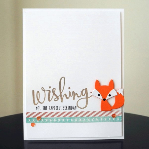 The Happiest by Jennifer Ingle #JustJingle #SimonSaysStamp #TayloredExpressions #Cards