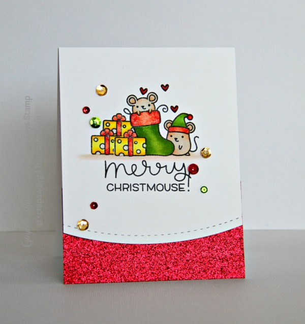 Merry Christmouse card smaller