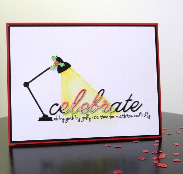 Celebrate by Jennifer Ingle #Christmas #SimonSaysStamp #MemoryBox #CASualFridaysStamps #Cards