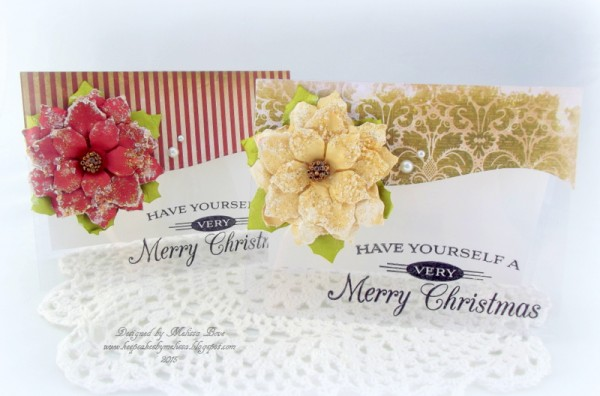 Merry Christmas Clear Cards