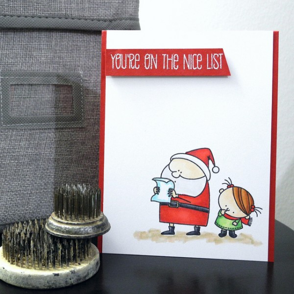 Nice List by Jennifer Ingle #SimonSaysStamp #MFTStamps #JustJingle
