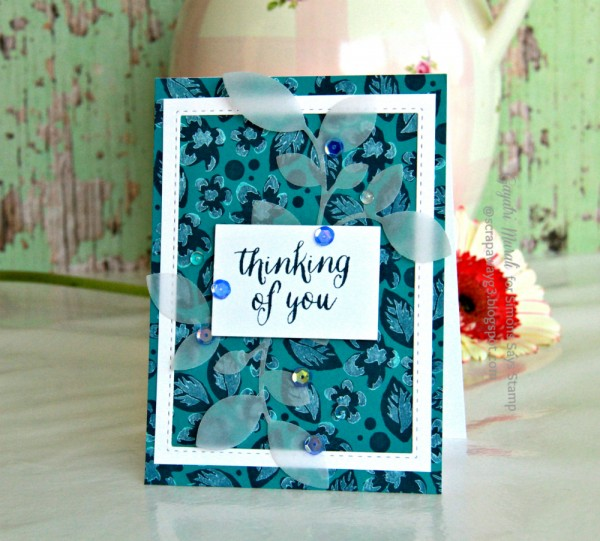 Thinking of you card 1 smaller