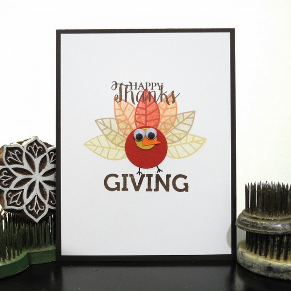 Happy Thanksgiving by Jennifer Ingle #JustJingle #SimonSaysStamp