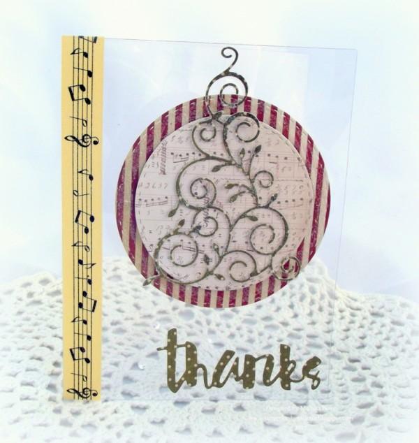 Christmas Thanks Card