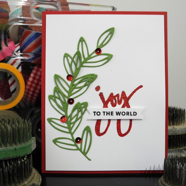 Joy to World by Jennifer Ingle #justjingle #simonsaysstamp #techniquetuesday #heroarts